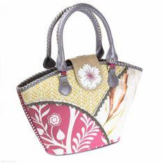 Birgitte Bucket Bag (Sunflower Salsa) - Spencer & Rutherford - Designer Handbags - Jenn Louise