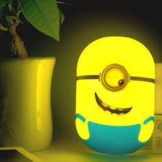 TheMinion LED Sensor Nightlight will keep you company at night. Please allow 2-3 weeks for shipping.