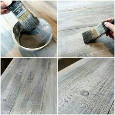 Learn to paint - look like Faux barn wood