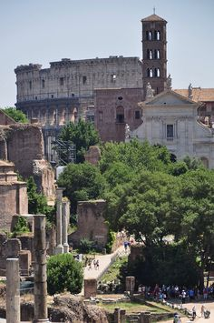 Rome, Italy. One day, I will get here. Soon!