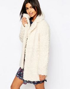 Pepe Jeans Cameron Faux Fur Teddy Coat