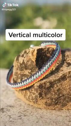 Diy Friendship Bracelets Tutorial, Diy Friendship Bracelets Patterns, Diy Bracelets Easy, Bracelet Tutorial, Handmade Bracelets, Macrame Tutorial, Loom Bracelets, Macrame Bracelets, Diy Crafts Jewelry