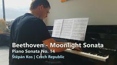 Moonlight Sonata - Beethoven | Piano Sonata No. 14 | Měsíční sonáta | Qu...