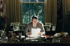 neat picture of President Reagan