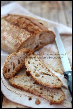 Pane con le patate e semola rimacinata di grano duro decorticato | Menta e Rosmarino