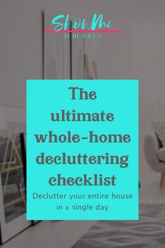 Need tips and ideas to kick clutter to the curb? Learn to declutter your whole house fast with this room by room checklist! Sign up to grab your copy of the free printable checklist too! #organizing #declutter #cleanhouse Organized Entryway, Organized Bedroom, Organized Kitchen, Game Organization, Entryway Organization, Organizing, How To Organize Your Closet, Declutter Your Home, Storage Tubs