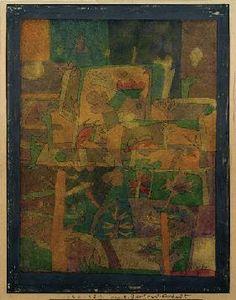 Paul Klee - Orientalische Gartenlandschaft, 1924.