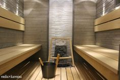 Valontalo Laundry Room Bathroom, Bathroom Toilets, Bathrooms, Sauna Design, Spa Rooms, Sweet Home, Bathtub, Saunas, Sauna Ideas