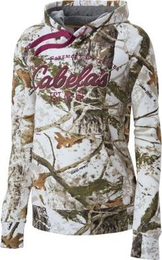 Don't be the only one on opening day without our Opening Day Camo Hoodie. Cotton-twill appliquè shows your love for the World's Foremost Outfitter®. Cozy 60/40 cotton/polyester fleece knocks out the crisp air.