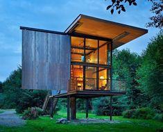 elegant design for a tiny house! credit @tinyshome