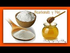 Mascarilla de Miel y Bicarbonato para piel perfecta! quita manchas, cierra poros - YouTube                                                                                                                                                                                 Más
