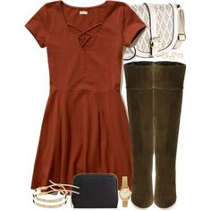 Lydia Inspired Outfit by veterization on Polyvore featuring Hollister Co., Topshop, Apt. 9, Merona, H&M and Pieces