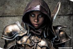 Diablo III: Demon Hunter by Poodoki on DeviantArt Diablo Cosplay, Warrior Movie, Demon Hunter, Barbarian, Movie Characters, Samurai, Knight, Medieval, Deviantart