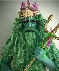 Neptun Kostüm selber machen   Kostüm Idee zu Karneval, Halloween & Fasching