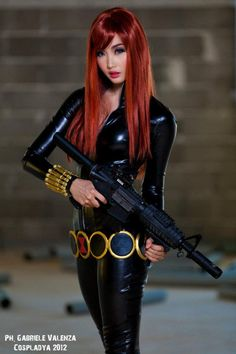 Alodia as Black Widow ^_^