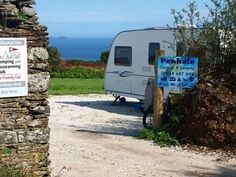 Penhale Caravan and Camping Park, Cornwall. Our working organic farm is set in an Area of Outstanding Natural Beauty as well as a Site of Special Scientific Interest http://www.organicholidays.co.uk/at/2826.htm