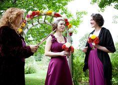 Bridesmaids & Purple