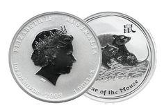 Lunar Silbermünzen Australien