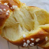 #briochetressée avec une mie incroyable !  Sur mon blog demain.  http : //cuisinedegout.wordpress.com