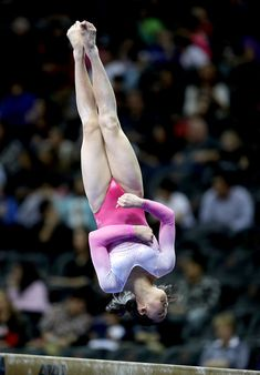 Helen Hu #9 competes in the floor exercise during the 2016 Nastia Liukin Cup on March 4, 2016 at Prudential Center in Newark, New Jersey.