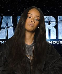 Rihanna talking about her new movie Valerian