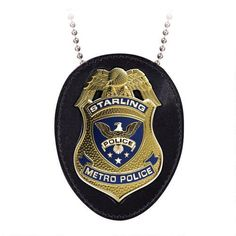 Arrow TV Series Starling City Police Badge Replica