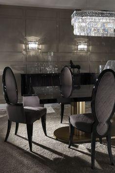 Trendy Wohnzimmer elegante Luxus Esstische Ideen Source by Luxury Dining Chair, White Dining Room Chairs, Dining Room Furniture, Furniture Online, Dining Furniture, Elegant Dining, Modern Dining Chairs, Table Design, Dining Room Design