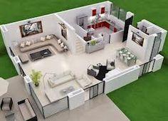 Maquetas de casa modernas por dentro buscar con google for Sims 2 mansiones y jardines
