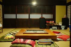irori (traditional japanese sunken hearth)
