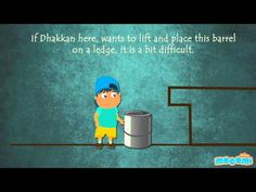 Inclined Plane – Simple #Machines - #Physics for Kids. For more science stuff for kids, visit: http://mocomi.com/learn/science/ Subscribe to our YouTube channel here http://www.youtube.com/user/mocomikids