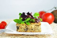 A simple recipe rich in proteins, vitamins, and minerals (especially B vitamins, vitamin D, selenium, phosphorus, copper, calcium, iron, magnesium, and zinc). Thanks to millet u... Rich In Protein, Calories, Savoury Cake, Yummy Snacks, How To Make Cake, Stuffed Mushrooms, Easy Meals, Low Carb, Tasty