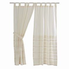 """Our Jasmine Creme Unlined Tab Top Short Panel Curtains 63"""" will allow the light to come into your room while still providing privacy at night. https://www.primitivestarquiltshop.com/collections/jasmine-creme-curtains/products/jasmine-creme-tab-top-short-panel-curtains-63 #countrystylecurtains"""