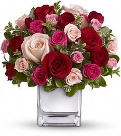 Silver Anniversary Flower Arrangements | cut flower bouquets something simple wedding flowers love and romance
