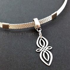 Celtic Infinity Knot Locking Day by MySecretHeartJewelry on Etsy