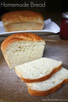 Homemade Bread Recipe #breadrecipe
