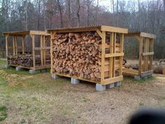 Build a shed on a weekend - Plans - - Small wood shelter plans/photos Build a Shed on a Weekend - Our plans include complete step-by-step details. If you are a first time builder trying to figure out how to build a shed, you are in the right place! Diy Storage Shed Plans, Wood Storage Sheds, Wood Shed Plans, Diy Shed, Bench Plans, Storage Rack, Outdoor Firewood Rack, Firewood Shed, Firewood Storage