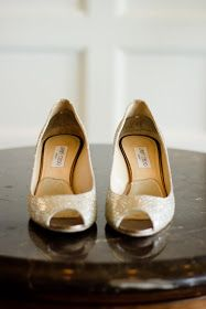 Some pretty Jimmy Choos for the pretty bride.  Shanna and Scott, Sagamore Resort.  Photo by Beltrami Studios.