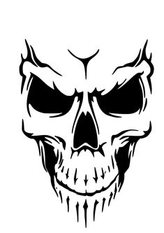 £5 GBP - High Detail Skull Airbrush Stencil - Free Uk Postage #ebay #Home & Garden