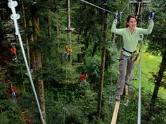 near Bern   Treat yourself to a trip to the beautiful region of Gantrisch and a visit the Rope Park. We guarantee you wi...