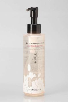 The Face Shop Rice Water Bright Cleansing Light Oil #KoreanBeautyProducts http://thelodown.com/beauty/korean-products-stateside/