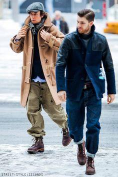 Pitti Uomo, Men's Fall/Winter Street Fashion.