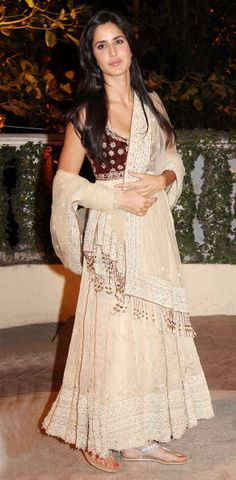 Katrina Kaif in an anarkali at Imran Khan's wedding