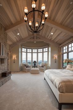 Best Solutions For Your Dream Master Bedroom - Traumhaus Dream House Interior, Luxury Homes Dream Houses, Dream Home Design, My Dream Home, Dream Master Bedroom, Home Bedroom, Master Bedrooms, Master Suite, Bedroom Ideas