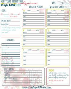 Free Printable Weekly Planner for Weight Loss, spring / summer body ready, go! Free Printable Weekly Planner for Weight Loss, spring / summer body ready, go! – Londage At Home Weight Loss Challenge, Weight Loss Diet Plan, Losing Weight Tips, Weight Loss Plans, How To Lose Weight Fast, Diet Challenge, Reduce Weight, Lose Fat, Easy Diet Plan