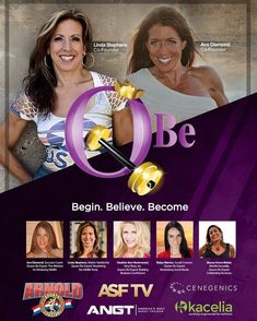 "Queen Be. Begin Believe. Become. Featured at The Arnold Summit  March 3 Friday at 11am and March 4 Saturday at 10am  2nd Floor of Columbus Convention Center Rooms B230 B231 & B232 #gamechanger The Founders of Queen B Ava Diamond and Linda M Stephens: Queen Be: Begin. Believe. Become.  Sponsorship Opportunity: Coming to the Arnold Summit & Conference ""Queen B"" Led by 2 extremely passionate knowledgable empowering women Ava Diamond and Linda M Stephens. Partner with an organization that will…"