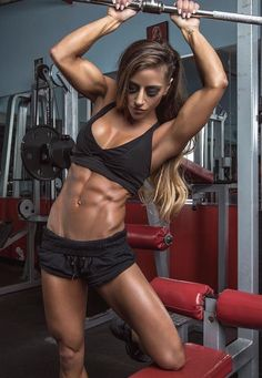 Awesome Abs ❤️ #Fitness #Gym #FitnessModel #Health #Athletic #BeachGirl #hardbodies #Workout #Bodybuilding #Femalemuscle