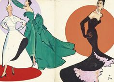 Fashion Illustrations by René Gruau Are Being Auctioned For Thousands Today