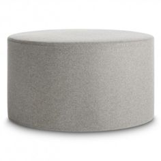 bumper large ottoman a round ottoman upholstered with fabric available in 13 colors buy this large round ottoman and modern ottomans at blu dot