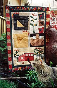 I like the corn in this quilt