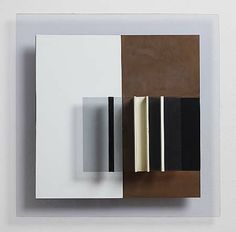 Anthony Hill -Medium Copper, aluminium, plastic and Perspex Size x cm 3d Wall Art, Wall Art Decor, Wall Sculptures, Sculpture Art, Geometric Sculpture, Pablo Picasso, Victor Pasmore, Deco Paint, Wall Installation